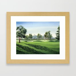 Winged Foot Golf Course New York Framed Art Print