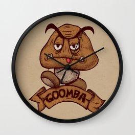Goomba Wall Clock