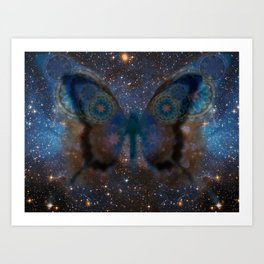 StarButterfly Art Print