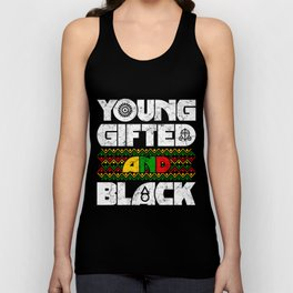 Black History Month, Proud To Be Black T-Shirt Unisex Tank Top