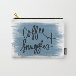 Coffee and Snuggles Carry-All Pouch