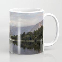 New Zealand Lake at sunset Coffee Mug