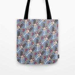 Run Away Office Boy tessellation Tote Bag