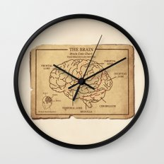 Food education for Zombies Wall Clock