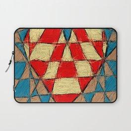 Abstract heart Laptop Sleeve