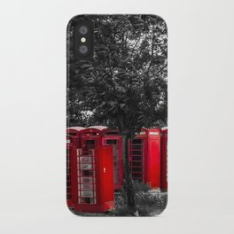 The Phonebox Graveyard iPhone Case