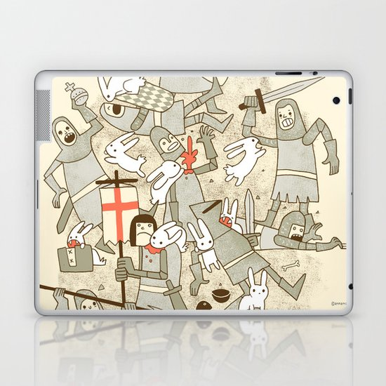 Bad Tempered Rodents Laptop & iPad Skin