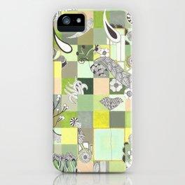 Botanist Boundaries no.2 iPhone Case