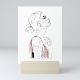 Blush Beauty Mini Art Print