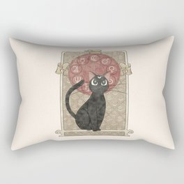 Lune Noire (Luna Sailor Moon) Rectangular Pillow
