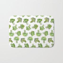 Broccoli - Scattered Bath Mat
