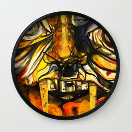 Internal Monsters Wall Clock