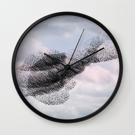 Swooping and looping version 2 Wall Clock