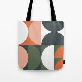 Mid Century Geometric 15 Tote Bag