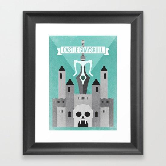 Castle Grayskull Framed Art Print