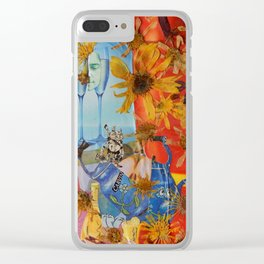 Suzy Q. and tin Lizzy. Clear iPhone Case