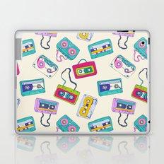 Vintage Cassette Tape Pattern Laptop & iPad Skin