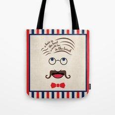 Barbershop Wisdom Tote Bag