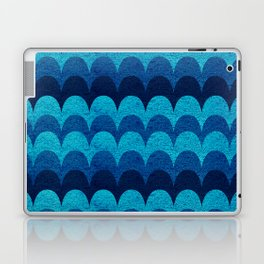 Abstraction_BLUE_WAVES Laptop & iPad Skin