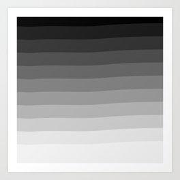 Ombré Art Print