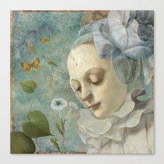 Blue Whisers Canvas Print