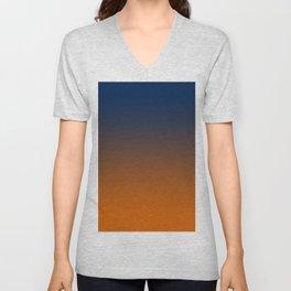 Ombre Ahinahina Sunrise Unisex V-Neck