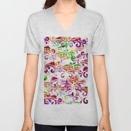 Dappled Pattern 2 Unisex V-Neck