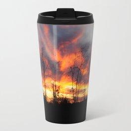 South Georgia Sky on Fire 3 Travel Mug