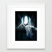demon Framed Art Prints featuring Demon by Joe Roberts