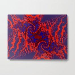 Heat Map Metal Print