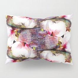 Double White Texture Pillow Sham
