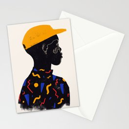 Yellow one Stationery Cards