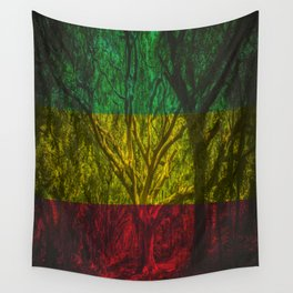 Rasta Forest Wall Tapestry