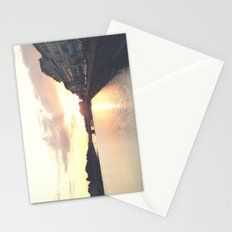 sunset on the Arno Stationery Cards