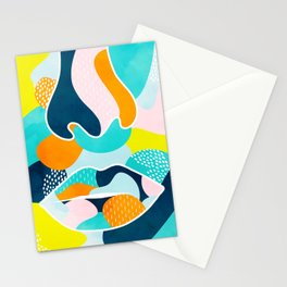 mask off Stationery Cards