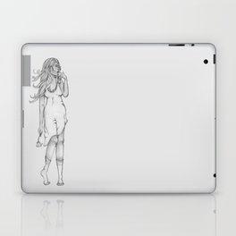 Lady in Wait Laptop & iPad Skin