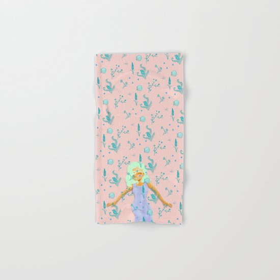 Design Based in Reality Pink Hand & Bath Towel