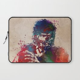 American football player 3 Laptop Sleeve