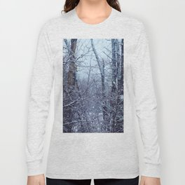 snow trees I Long Sleeve T-shirt
