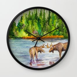 Isle Royale National Park Wall Clock