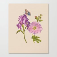 botanical Canvas Prints featuring Botanical by Catherine Holcombe