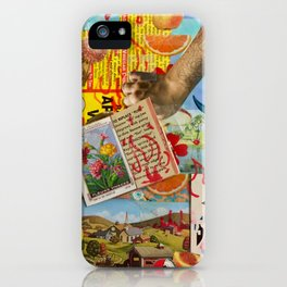 Garden Of Earthly Charms iPhone Case