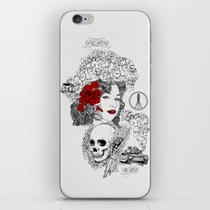 Peace & War iPhone & iPod Skin