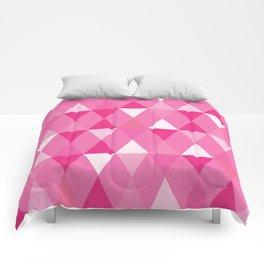 Harlequin Print Pinks Comforters