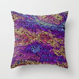 PSYCH WEAVE - C6 Throw Pillow