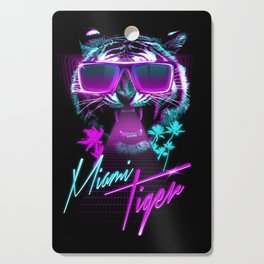 Miami Tiger Cutting Board