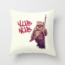 Yub Nub Throw Pillow