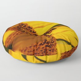 Best little pollinator Floor Pillow