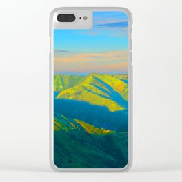 moods of land Clear iPhone Case