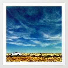 The Drive. Art Print